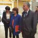 visite du Lycée Agricole Contamine avec Mme Berthoux et Mr Saddier, VP
