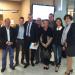 les conseillers municipaux reçus au CR avec Laurent Wauquiez